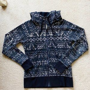 The North Face Patterned Hooded Jacket